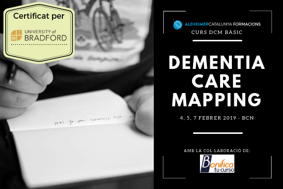 Curs Dementia Care Mapping Bàsic 2019